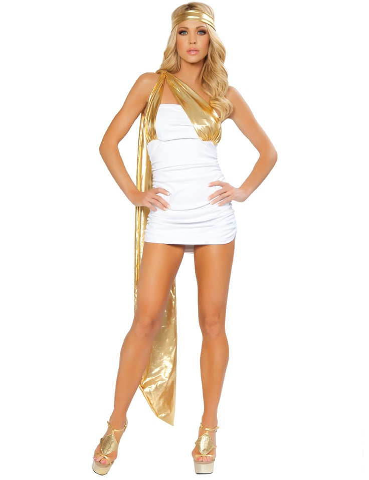 how to make a greek goddess costume with a sheet