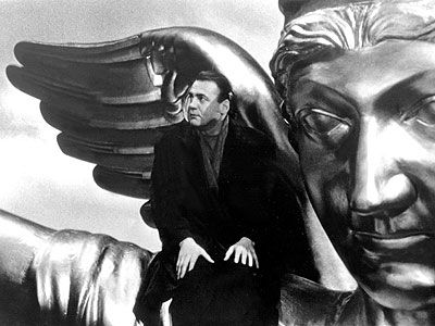 Wings of Desire (Directed by Wim Wenders with Bruno Ganz, Solveig Dommartin, Otto Sander, Curt Bois - 1987)