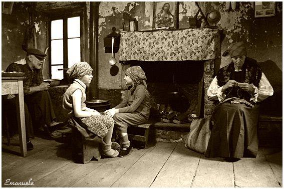 Quando alla sera i nonni raccontavano le storie.
