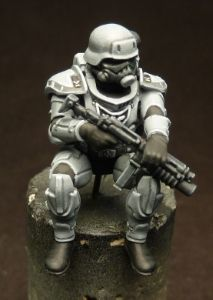 dwartist's painting blog: WIP: Eisenkern 5-man squad...