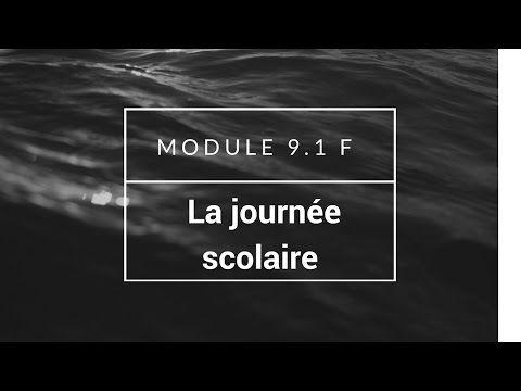 AQA GCSE Higher French Module 9.1 F La journée scolaire - YouTube