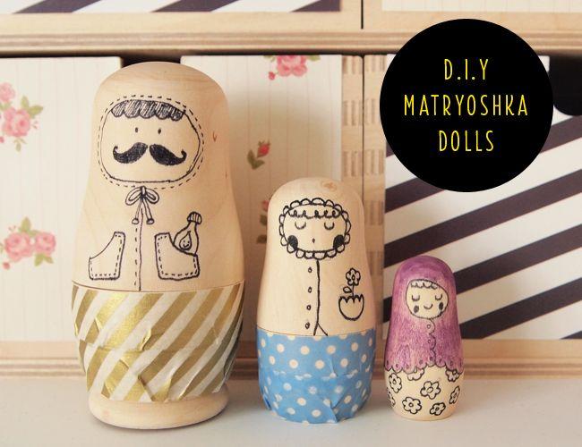 DIY Matryoshka Doll by Design is Yay!