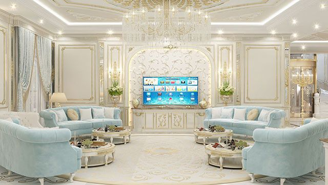 Admirable Living Room Design In Dubai By Luxury Antonovich Design Mansion Living Room Mansion Living Room Luxury Luxury Interior Design Kitchen