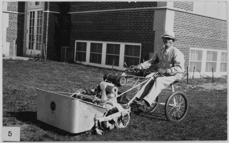 Toro riding lawn mower, 1930 http://www.sepw.com/toro-parts.aspx