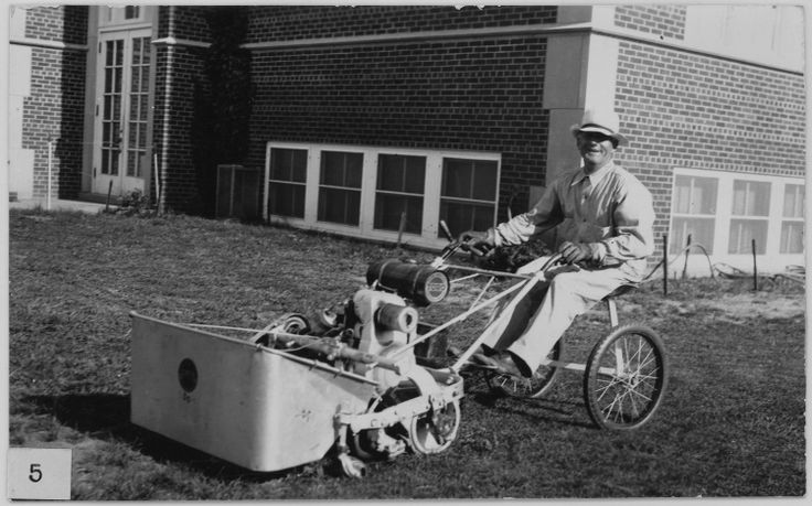 Toro riding lawn mower, 1930 http://www.sepw.com/toro-parts.aspx