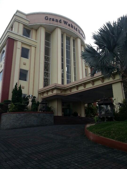 Grand Wahid hotel, Jl. Jenderal Sudirman,  Salatiga, Central Java.