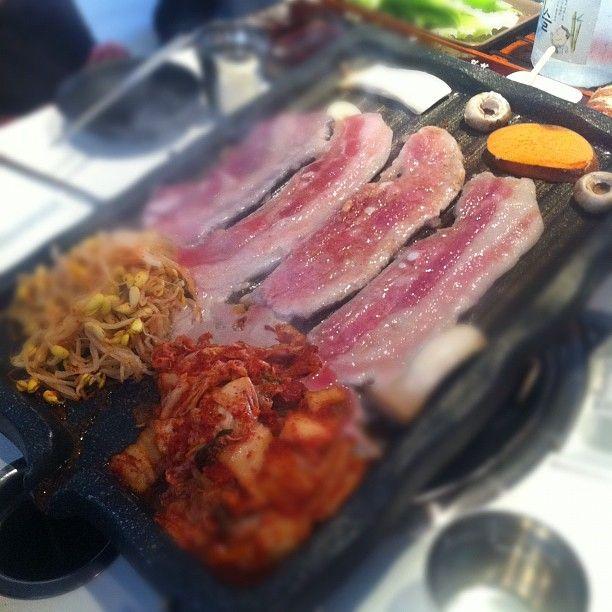 Palsaik Samgyupsal Korean Bbq Pork Belly Bbq Via Josh Park