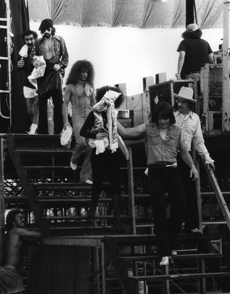 Photo: The J. Geils Band Backstage – Dallas Texas, 1977 ...