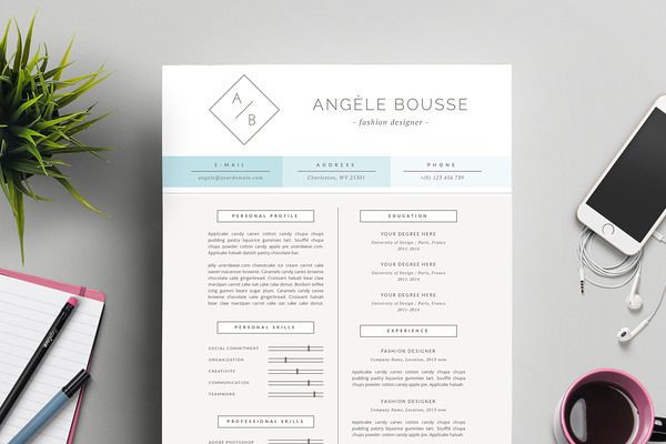 Minimalist Resume Template for Word