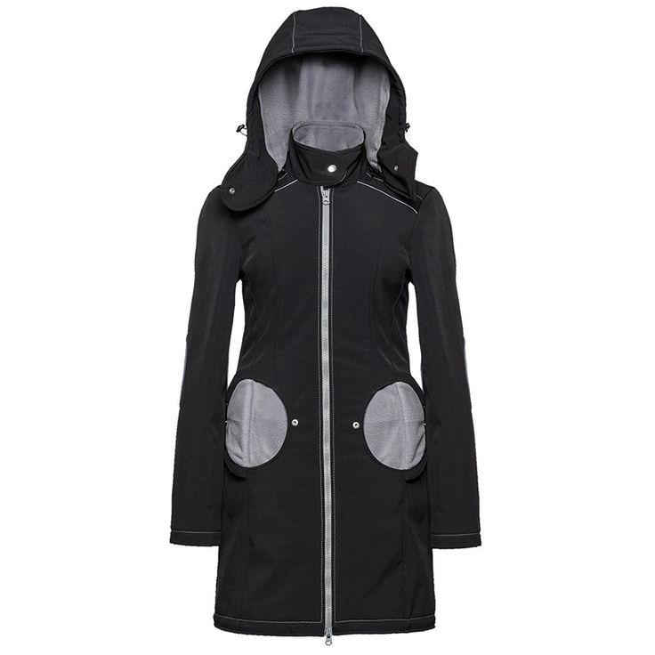 "Liliputi® Mama Coat ""Black-Grey""  http://www.liliputibabycarriers.com/babywearing-mama-coat/mama-coat-black-grey"