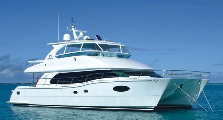 love this boat, Blue Horizon, 58 foot power catamaran by Horizon Power Catamarans