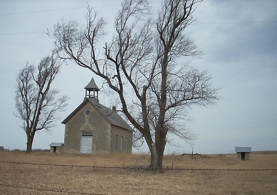 Old Church in Kansas: