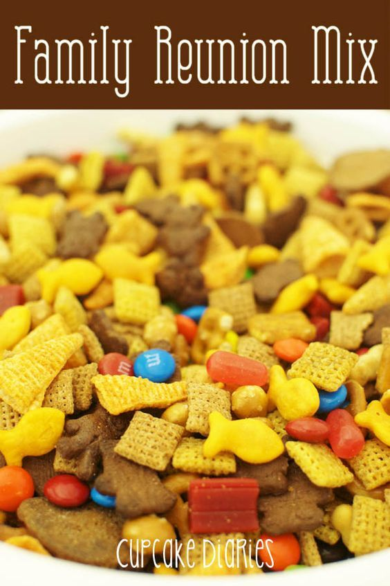 Family Reunion Snack Mix - A perfect salty and sweet mix for a crowd!: