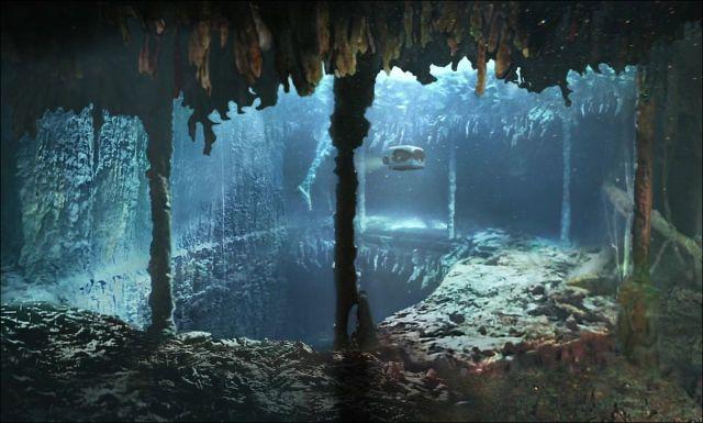 Por 73 anos após a noite do naufrágio, o Titanic estava intocado no fundo do oceano.