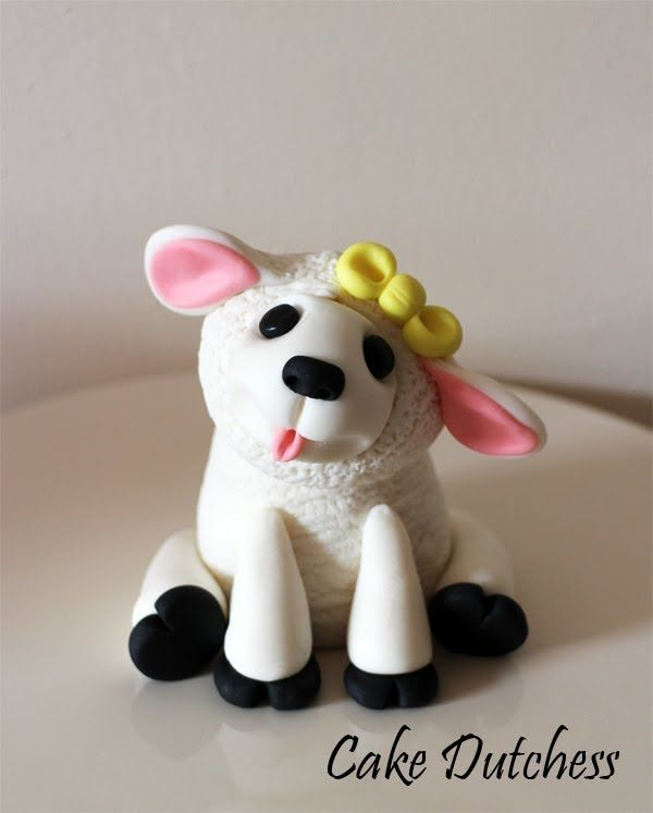 How to make this Easter Lamb - VIDEO TUTORIAL