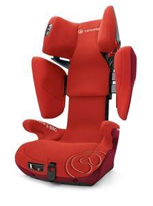 Sillas Auto Concord Transformer X-Bag está equipada con laterales continuos y tres capas de amortiguación. El asiento ofrece la protección lateral óptima. Twinfix system y stepsize system.