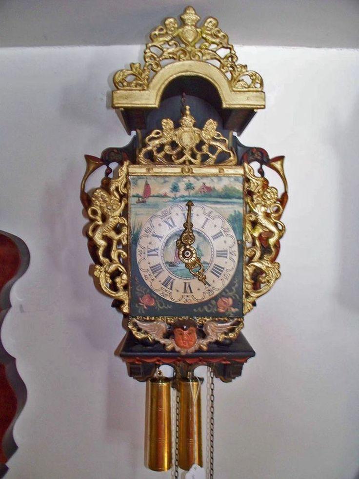 Antique Dutch Frisian Mermaid Wall Clock Sirens Amp Their