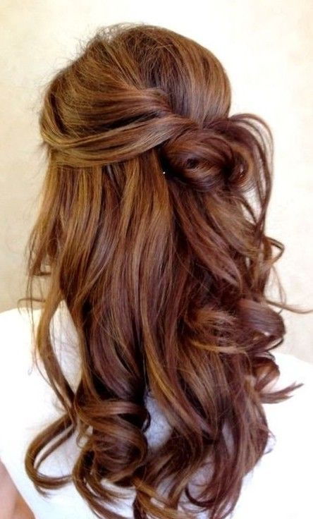Romantic Soft Wavy Hairstyle for Wedding #WavyHairstyles