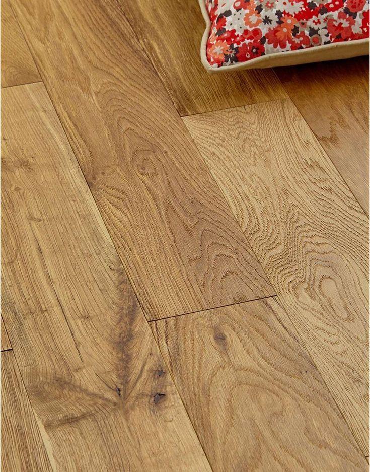 Plancher De Bois D Ingenierie Brosse Et Huile Studio Cottage Oak