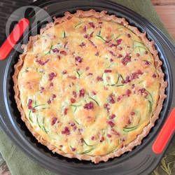 Gluten Free Zucchini and Bacon Quiche @ allrecipes.com.au