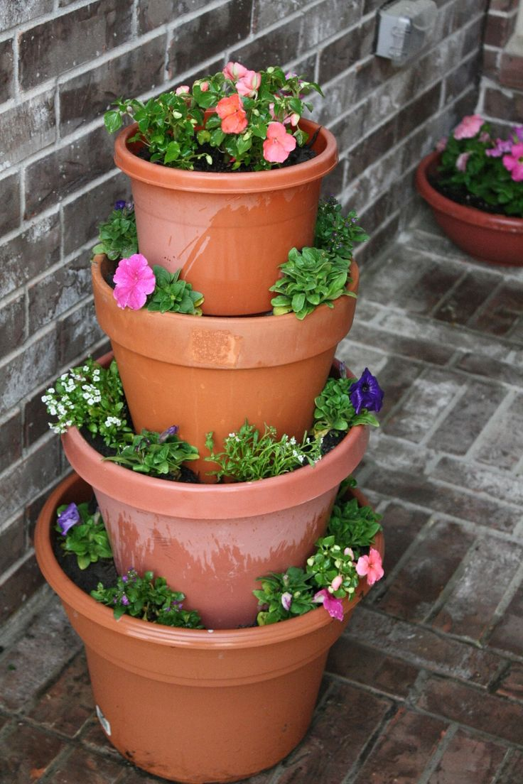 17 best images about containers unique on pinterest planters herbs garden and strawberry pots - Unusual planters for outdoors ...