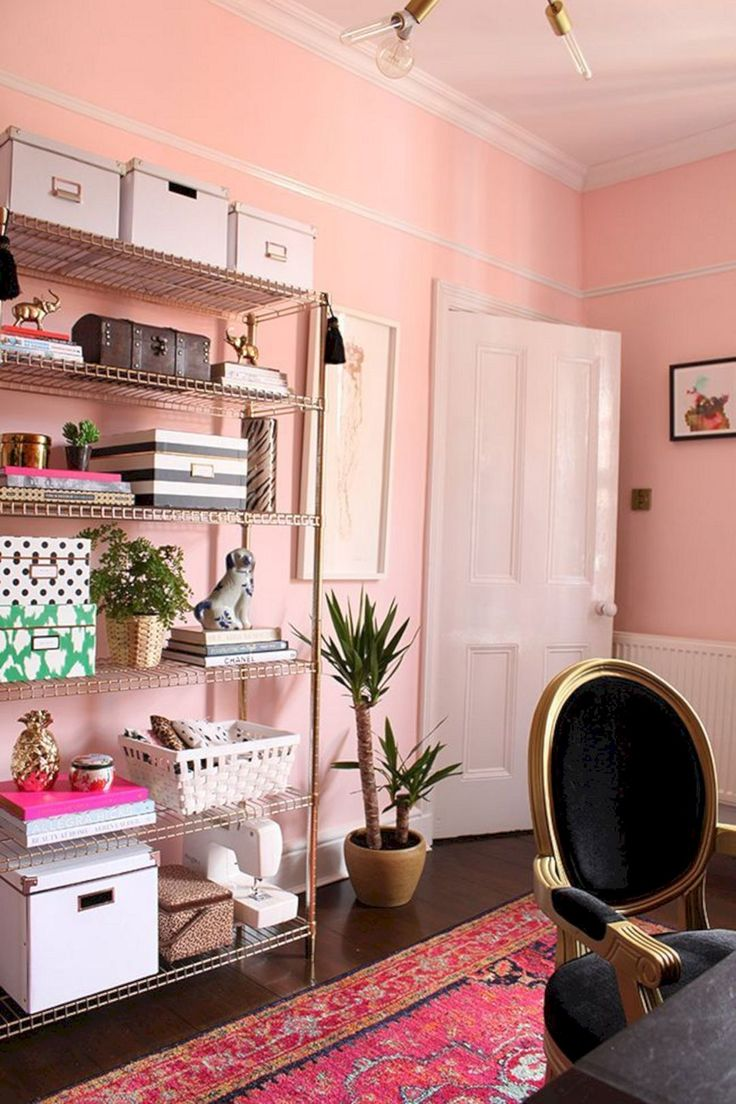 Majestic 25+ Most Romantic Pink Home Offices Color Scheme Ideas http://goodsgn.com/interior/25-most-romantic-pink-home-offices-color-scheme-ideas/