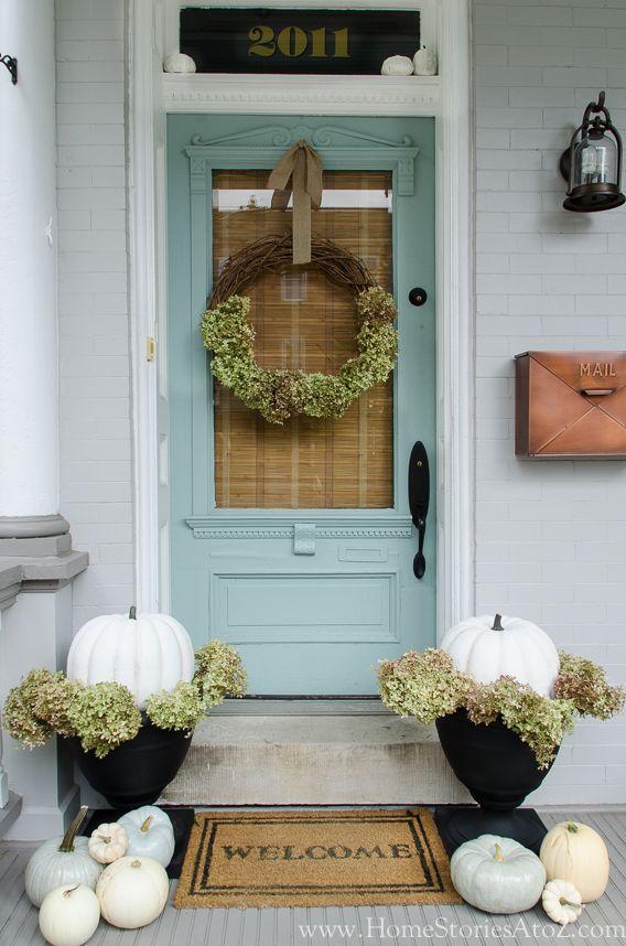 5c7c5baa6eda0dfa7e1585fc0a5a8036 blue pumpkin fall door