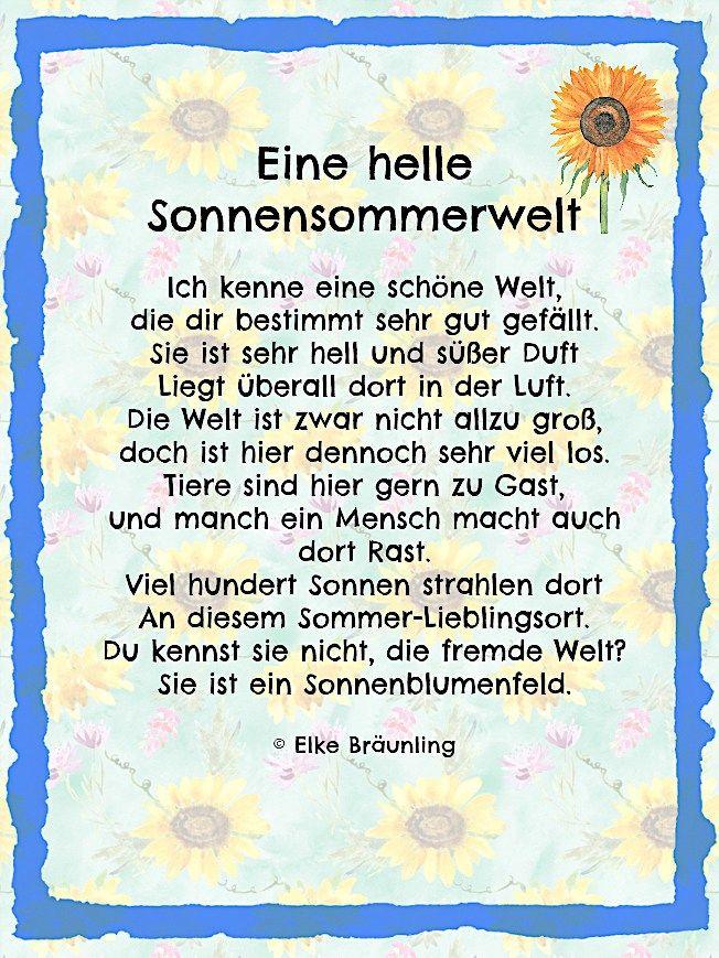Blumen Gedicht Kindergarten Blumen Gedicht Für Den