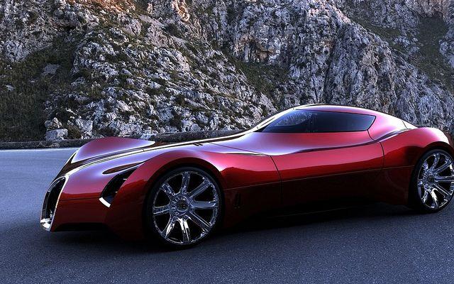 Voluptuous Bugatti Concept Super Coupe