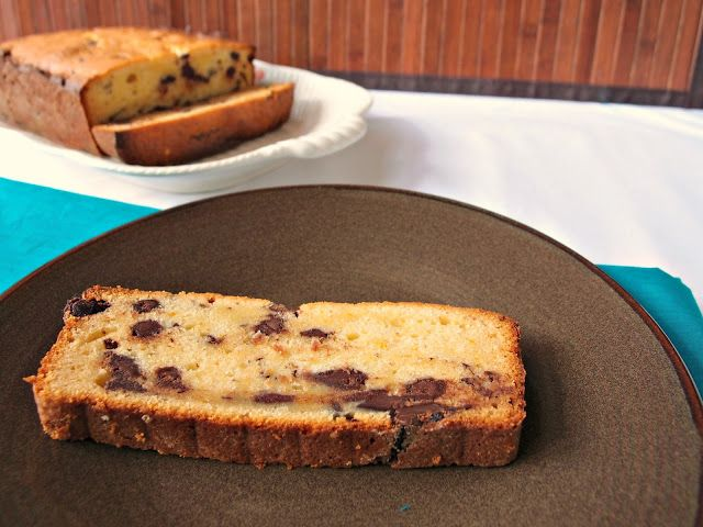 Chocolate-Orange Cream Cheese Pound Cake | Delicate Bakery | Pinterest