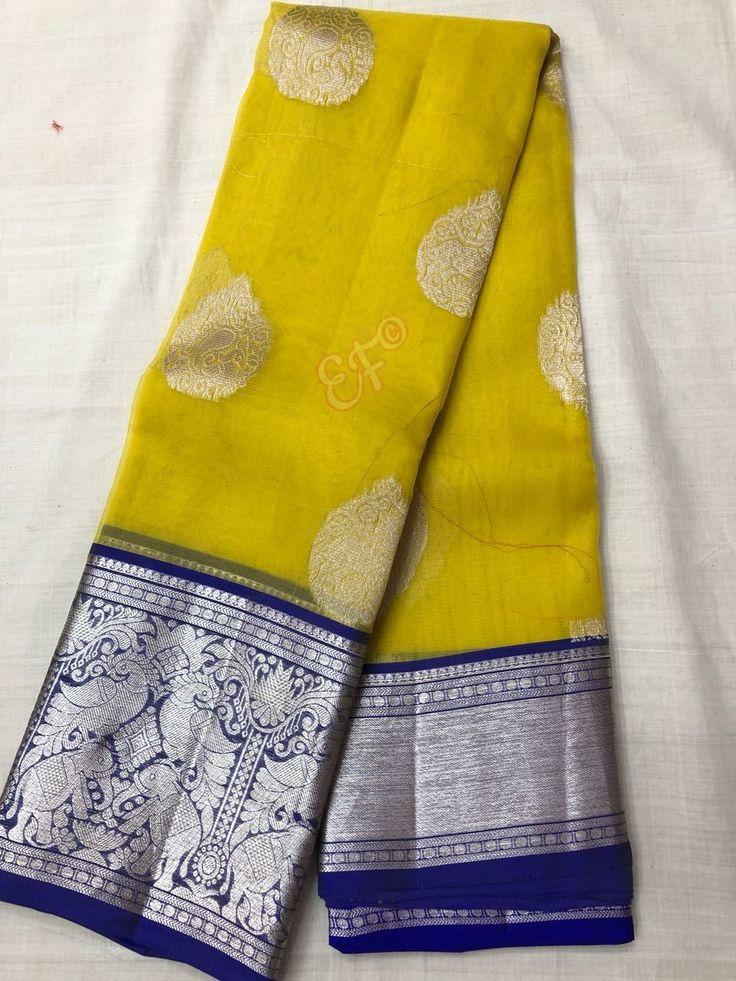 Kanchi kora saree
