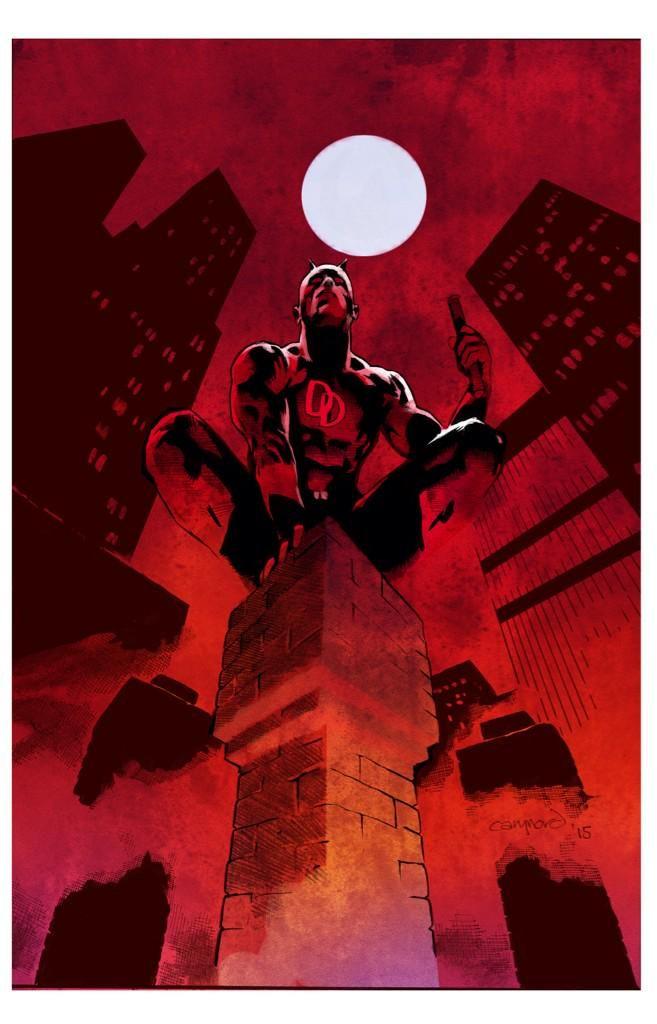 Daredevil comic poster