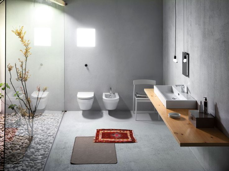 GSI ceramic | In line with the renewed stylistic trend of GSI Ceramics, Kube strongly asserts the company's new profile.  #GSIceramica #BathroomDesign #Washbasins