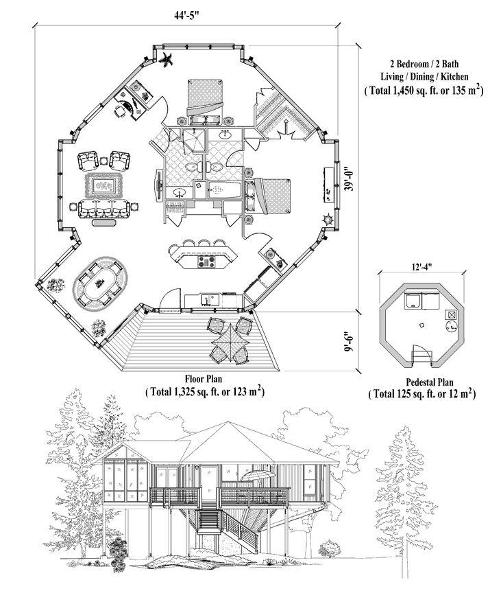 3 Bedrooms 2 Bath 2321 Sq Ft: Online House Plan: 1450 Sq. Ft., 2 Bedrooms, 2 Baths