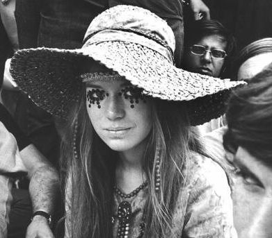 Days of Woodstock // hippie // 70's chic