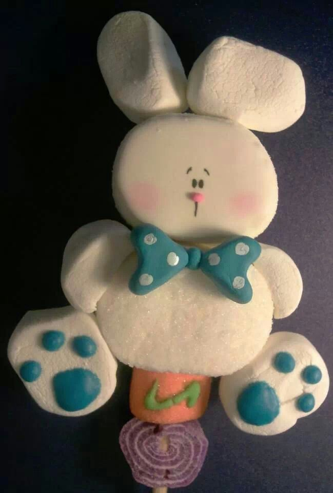 Marshmallow Pop - Easter Rabbit