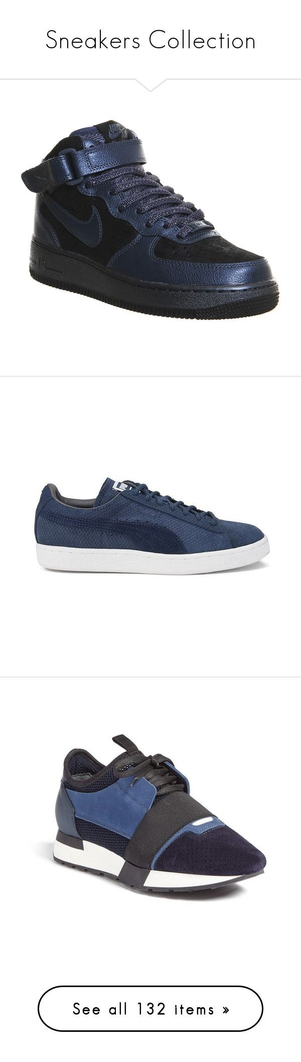 """""""Sneakers Collection"""" by tamara-40 ❤ liked on Polyvore featuring sneakers, 2015, shoes, cat footwear, puma sneakers, cat sneakers, grip trainer, suede lace up shoes, tory navy and lace up sneakers"""