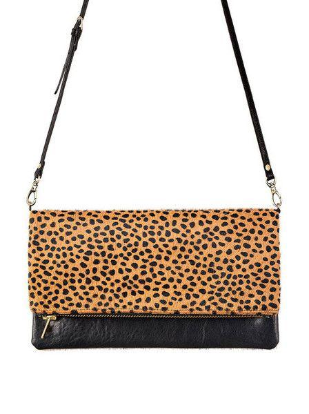 Status Anxiety - Gwyneth Bag - Cheetah $129.00