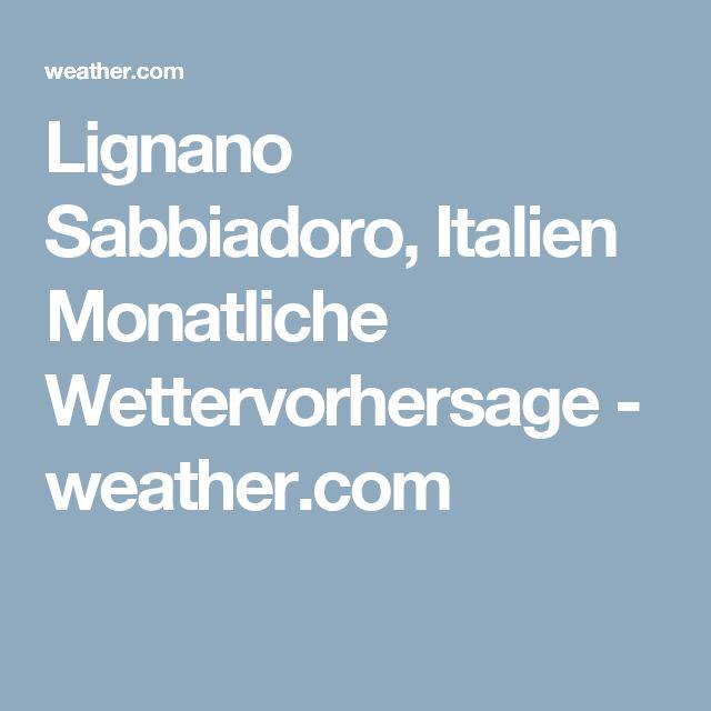 Monatliche Wettervorhersage