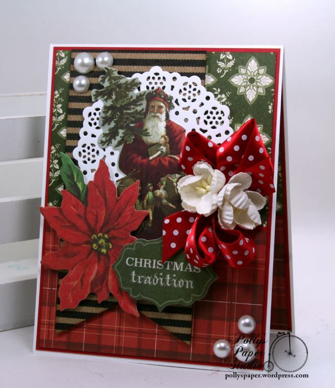 Christmas Traditions Greeitng Card Pollyu0027s Paper Studio