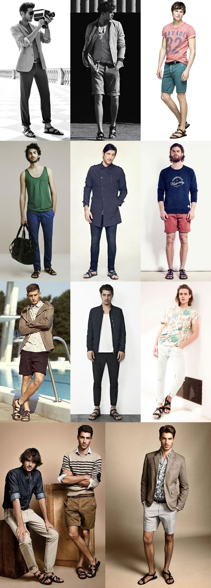 Men's 2014 Spring/Summer Footwear Trend: Sandals - The Gladiator Lookbook Inspiration