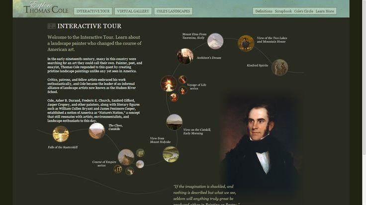 Explore Thomas Cole | Interactive Tour