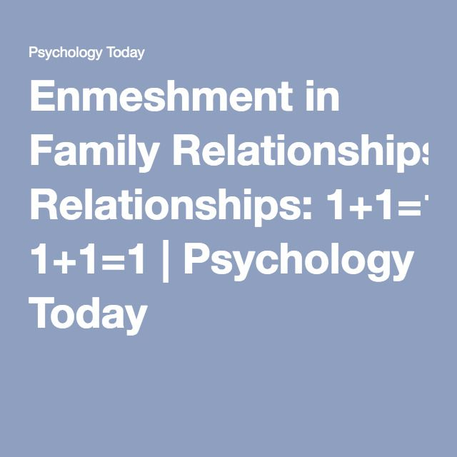 unsure about relationship psychology today