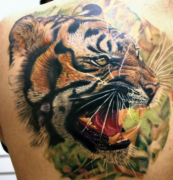 17 best images about tattoo on pinterest tiger tattoo for Cool tiger tattoos