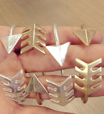arrow cuffs