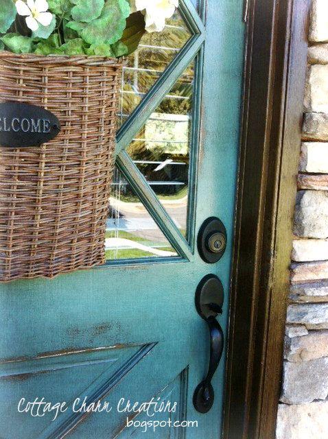 106 best front door paint colors images on Pinterest   Front doors ...