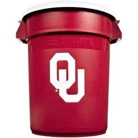 Rubbermaid® Brute 32 Gallon Oklahoma Garbage Can with Lid - At the US Foods Chef Store in OKC!
