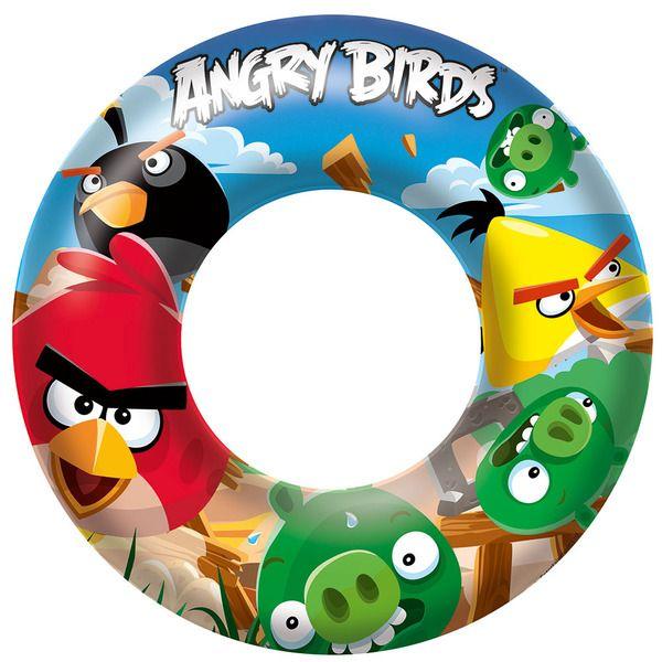 Bestway 96102 Круг для плавания 56 см Angry Birds  (24)