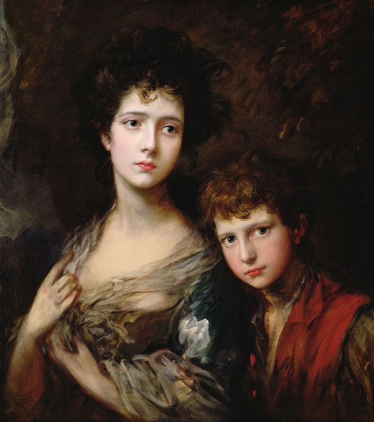Thomas Gainsborough     Elizabeth and Thomas Linley
