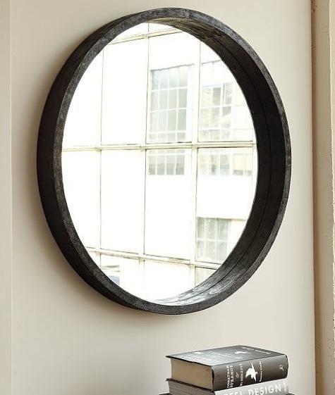 Accessories: Round Mirror from West Elm : Remodelista